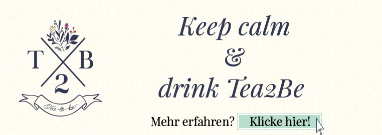 Banner Tea2Be Teetrinken